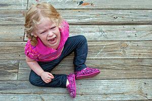 Что делать если у ребенка истерика
