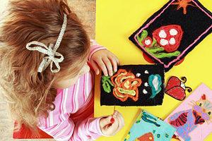 Детское рукоделие для самых маленьких по системе Монтессори